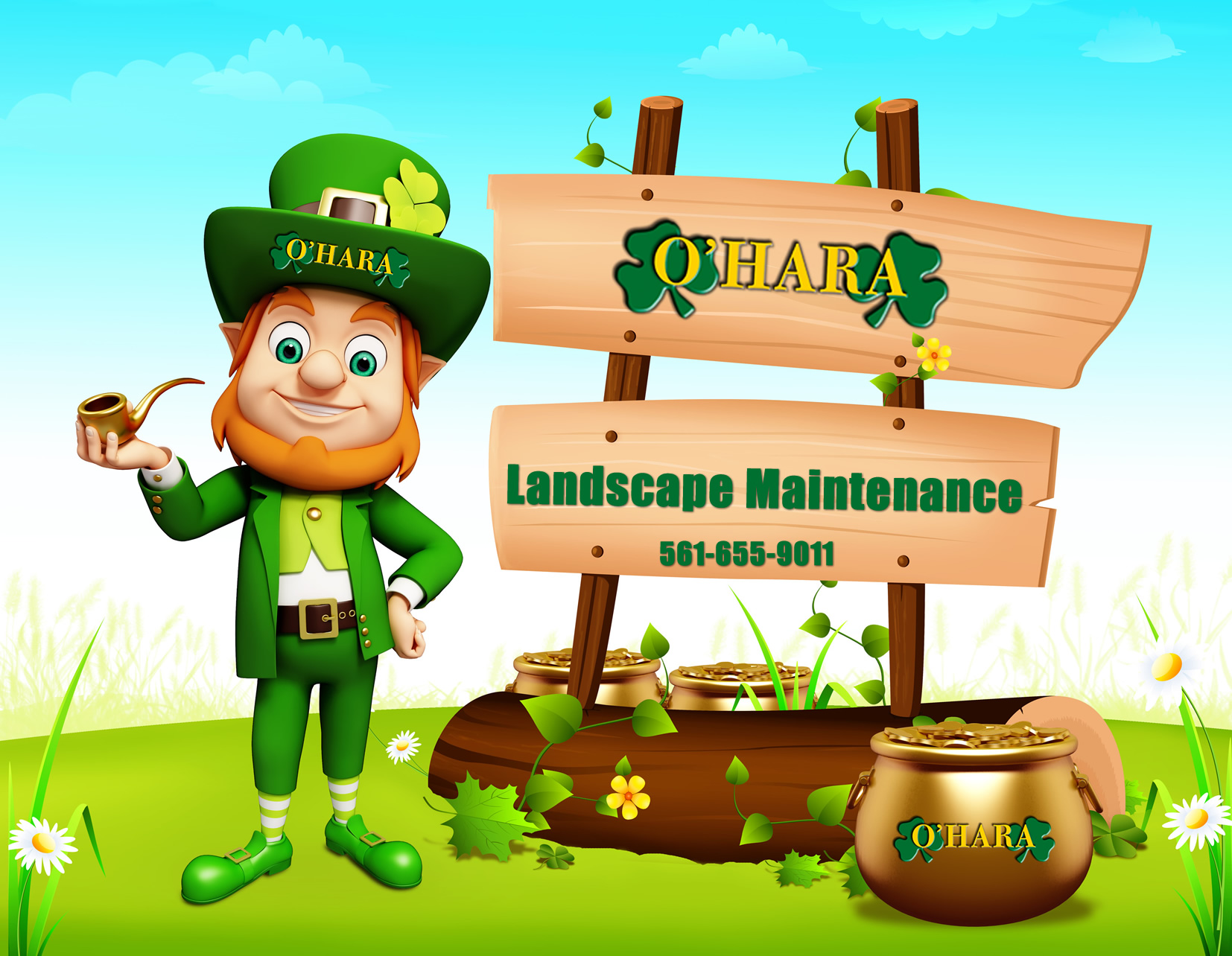 O'Hara Landscape and Maintenance Palm Beach County